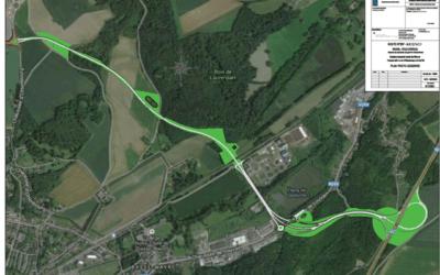 Le contournement nord de Wavre est à l'enquête publique