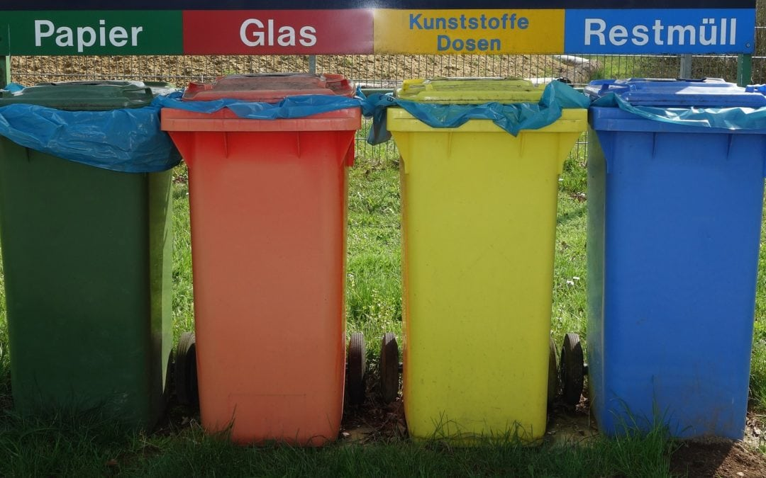 Tri sélectif des déchets obligatoire dans l'espace public
