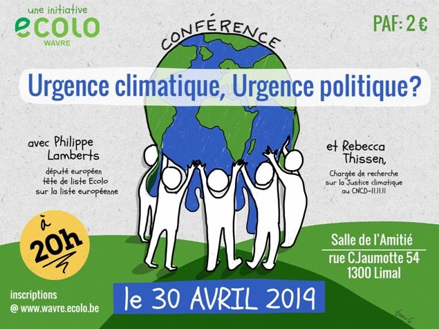 Urgence climatique, Urgence politique ?